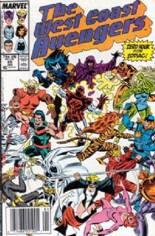 West Coast Avengers (1985-1989) #28 Variant A: Newsstand Edition