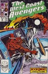 West Coast Avengers (1985-1989) #29 Variant B: Direct Edition