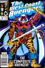 West Coast Avengers (1985-1989) #30 Variant A: Newsstand Edition