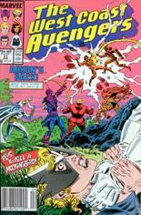 West Coast Avengers (1985-1989) #31 Variant A: Newsstand Edition