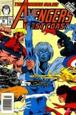 Avengers West Coast (1989-1994) #96 Variant A: Newsstand Edition