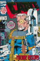 Cable (1993-2002) #1 Variant B: Direct Edition; Gold Foil Wraparound Cover