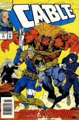 Cable (1993-2002) #4 Variant A: Newsstand Edition