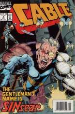 Cable (1993-2002) #5 Variant A: Newsstand Edition