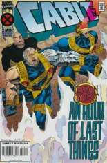Cable (1993-2002) #20 Variant C: Direct Edition; Deluxe Cover