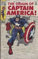 Captain America (1968-1996) #109 Variant A