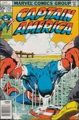 Captain America (1968-1996) #224 Variant A