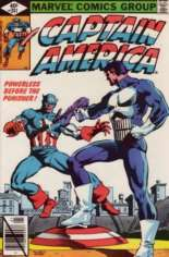 Captain America (1968-1996) #241 Variant B: Direct Edition; NM Copies are scarce due to Printer's Crease Error