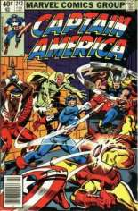 Captain America (1968-1996) #242 Variant A: Newsstand Edition