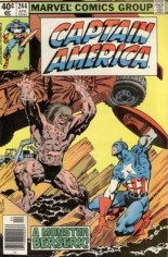Captain America (1968-1996) #244 Variant A: Newsstand Edition