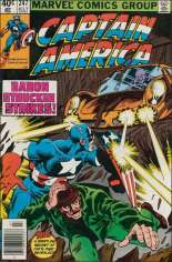 Captain America (1968-1996) #247 Variant A: Newsstand Edition