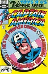 Captain America (1968-1996) #250 Variant B: Direct Edition
