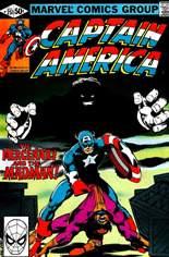 Captain America (1968-1996) #251 Variant B: Direct Edition