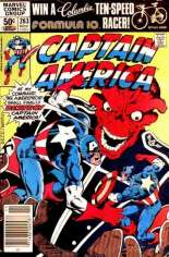 Captain America (1968-1996) #263 Variant A: Newsstand Edition