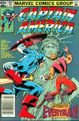 Captain America (1968-1996) #267 Variant A: Newsstand Edition