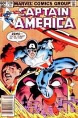 Captain America (1968-1996) #278 Variant A: Newsstand Edition
