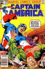 Captain America (1968-1996) #279 Variant A: Newsstand Edition