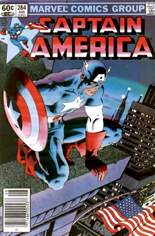 Captain America (1968-1996) #284 Variant A: Newsstand Edition