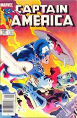 Captain America (1968-1996) #287 Variant A: Newsstand Edition