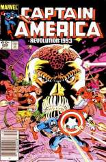 Captain America (1968-1996) #288 Variant A: Newsstand Edition