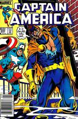 Captain America (1968-1996) #293 Variant A: Newsstand Edition