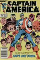 Captain America (1968-1996) #299 Variant A: Newsstand Edition
