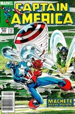 Captain America (1968-1996) #302 Variant A: Newsstand Edition