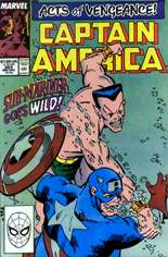 Captain America (1968-1996) #365 Variant B: Direct Edition