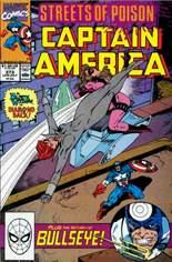 Captain America (1968-1996) #373 Variant B: Direct Edition