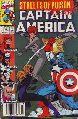 Captain America (1968-1996) #376 Variant A: Newsstand Edition