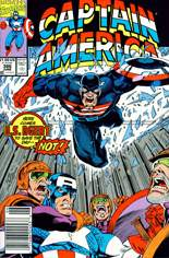 Captain America (1968-1996) #386 Variant A: Newsstand Edition