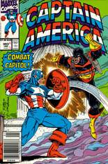Captain America (1968-1996) #393 Variant A: Newsstand Edition