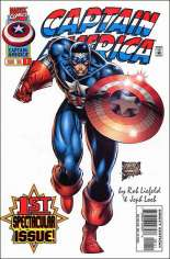 Captain America (1996-1997) #1 Variant B: Direct Edition