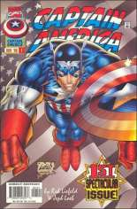 Captain America (1996-1997) #1 Variant C: Stars & Stripes Variant Cover