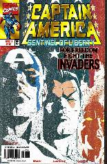 Captain America: Sentinel of Liberty (1998-1999) #2 Variant A: Cover: Closeup of Three Character Faces