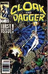 Cloak and Dagger (1985-1987) #1 Variant A: Newsstand Edition