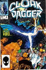 Cloak and Dagger (1985-1987) #2 Variant B: Direct Edition