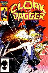 Cloak and Dagger (1985-1987) #6 Variant B: Direct Edition