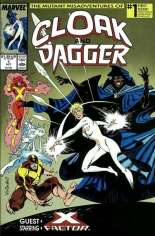 Mutant Misadventures of Cloak and Dagger (1988-1991) #1 Variant B: Direct Edition