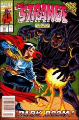 Doctor Strange, Sorcerer Supreme (1988-1996) #34 Variant A: Newsstand Edition. Pages 22 and 25 were switched due to a printer error.