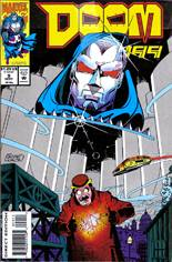 Doom 2099 (1993-1996) #9 Variant B: Direct Edition