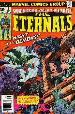 Eternals (1976-1978) #4 Variant A