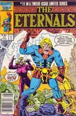 Eternals (1985-1986) #11 Variant A: Newsstand Edition