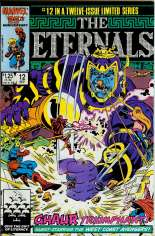 Eternals (1985-1986) #12 Variant B: Direct Edition