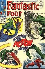 Fantastic Four (1961-1996) #71