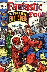 Fantastic Four (1961-1996) #91