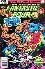 Fantastic Four (1961-1996) #211 Variant A: Newsstand Edition