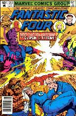Fantastic Four (1961-1996) #212 Variant A: Newsstand Edition