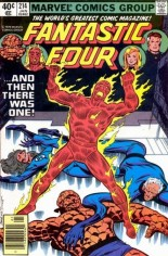 Fantastic Four (1961-1996) #214 Variant A: Newsstand Edition