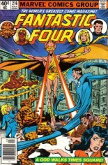 Fantastic Four (1961-1996) #216 Variant A: Newsstand Edition